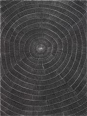 Sale 8696 - Lot 542 - Mary Rumble Pitjara (1957 - ) - Kangaroo Dreaming 200 x 150cm