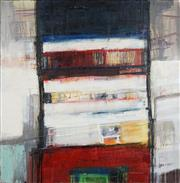 Sale 8704 - Lot 525 - Morten Lassen (1968 - ) - Stacked B, 2010 120 x 120cm