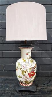 Sale 8959 - Lot 1084 - Oriental Ceramic Table Lamp (H:73cm)