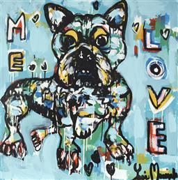 Sale 9081A - Lot 5076 - Yosi Messiah (1964 - ) - Me Love, 2020 85 x 85 cm