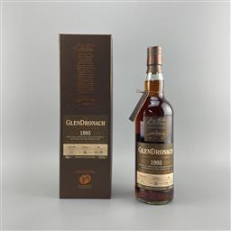 Sale 9165 - Lot 664 - 1993 The Glendronach Distillery Cask Bottling 26YO Highland Single Malt Scotch Whisky - distilled 12/02/1993, bottled 2019, bottle...