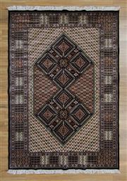 Sale 8566C - Lot 21 - Indian Silk Jaipor 225cm x 153cm