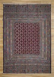 Sale 8576C - Lot 26 - Super Fine Persian Somak 293cm x 196cm