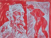 Sale 8838A - Lot 5148 - Ben Taylor (1960 - ) - Artist and Model, 2004 91.5 x 122cm