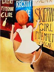 Sale 8938 - Lot 535 - Charles Blackman (1918 - 1928) - Skipping Girl 89 x 66.5 cm