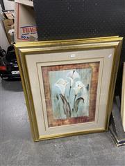 Sale 8927 - Lot 2092 - Pair of Decorative Prints of Arum Lillies
