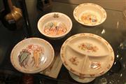 Sale 8306 - Lot 83 - Bunnykins Bowls & 2 Gumnut Babies Plates by Royal Grafton