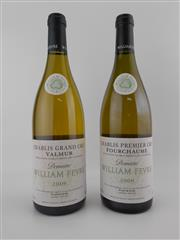 Sale 8479 - Lot 1791 - 2x 2006 Domaine William Fevre Grand Cru, Chablis - 1x Valmur, 1x Fourchaume