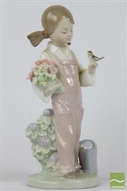 Sale 8521 - Lot 160 - Lladro Figural Girl