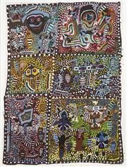 Sale 8718 - Lot 548 - Willie Gudupi & Moima Willie (1916 - 1996) (1935 - deceased) - Untitled acrylic on canvas