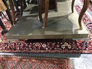 Sale 8822 - Lot 1789 - Large B&B Italia Coffee Table on Chrome Legs (H: 26 L: 180 W: 90cm)