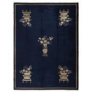 Sale 9061C - Lot 9 - Antique Chinese Peking Rug, Circa 1930, 225x305cm, Handspun Wool