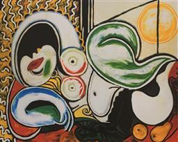 Sale 9108A - Lot 5035 - Pablo Picasso (1881 - 1973) - Femme Couchee 30 x 43 cm (sheet)