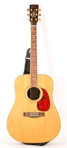 Sale 9136 - Lot 99 - A Blast acoustic guitar in case (AG14MN)