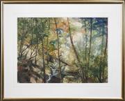 Sale 8420 - Lot 501 - David Voigt (1944 - ) - Southern River, 1999 57 x 76cm