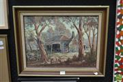 Sale 8458 - Lot 2023 - DHange Yammanee (1947 - ) - Days Gone By - Kempsey I, 1984 29.5 x 39.5cm