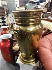 Sale 8896 - Lot 1071 - Large Brass Umbrella Stand