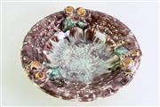 Sale 8963 - Lot 41 - German brown glazed deep bowl (Da35cm)