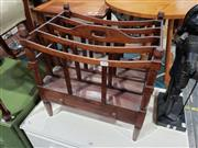 Sale 8988 - Lot 1038 - Cedar Canterbury with Single Drawer (H:50 W:47 D:34cm)