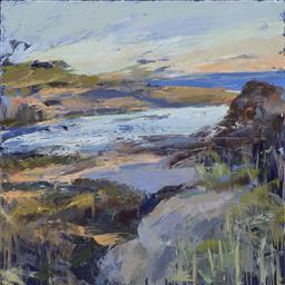 Sale 9081A - Lot 5029 - Laura Matthews (1964 - ) - Dusk Settles 50 x 50 cm (mount: 64.5 x 63.5 cm)