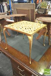 Sale 8406 - Lot 1066 - Gilt Metal Side Table