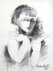 Sale 8410A - Lot 5051 - Anne Hall (1945 - ) - Untitled, 1977 (Look at Me) 76.5 x 56cm (sheet size)