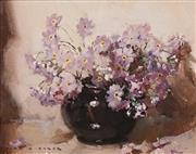 Sale 8624 - Lot 512 - Alan Baker (1914 - 1987) - Still Life 18 x 23cm
