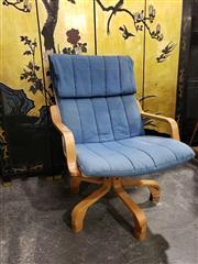 Sale 8988 - Lot 1024 - Bentwood Armchair (H: 100 x W: 70cm)