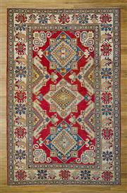 Sale 8566C - Lot 23 - Afghan Kazak 327cm x 209cm