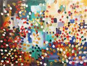 Sale 8847A - Lot 5022 - Greg Lipman (1938 - ) - Cloudburst 92 x 122cm