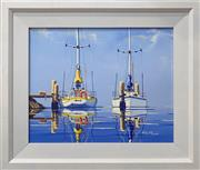 Sale 8878 - Lot 2051 - John N. Pearson (1959 - ) - Tranquil Waters 55 x 65cm