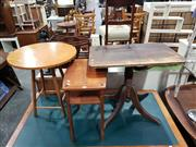 Sale 8988 - Lot 1031 - Collection of Three Timber Tables (Various Sizes)