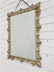 Sale 9063 - Lot 1091 - Ornate Metal Frame Mirror ( 77 x 59cm)