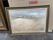 Sale 9072 - Lot 2073 - John Lovett Barren Outback oil on canvas on board, 80 x 101cm , signed