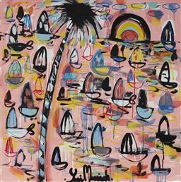 Sale 9081A - Lot 5077 - Yosi Messiah (1964 - ) - First Light, 2020 85 x 85 cm