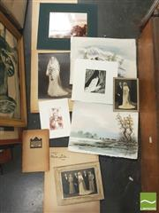 Sale 8413T - Lot 2073 - Early Photographs & Etchings with a Pen & Wash