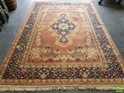 Sale 8469 - Lot 1100 - Antique Persian Kashan (295 x 200cm)