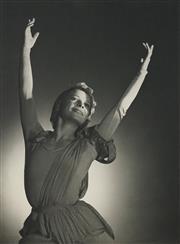 Sale 8592A - Lot 5054 - Max Dupain (1911 - 1992) - Sonia Woizikowska, 1937 44 x 32.5cm