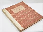 Sale 8822B - Lot 859 - Modern Book Production, pub. The Studio Ltd. 1928 with Adrian Feint signed Sydney Ure Smith bookplate