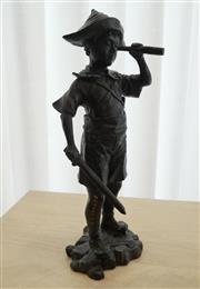 Sale 8858H - Lot 54 - David Bromley (1960 - ) - Pirate Boy H 37cm