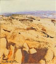 Sale 8441T - Lot 2009 - Kate Smith (1947 - ) - Alice Landscape II 9 x 8cm