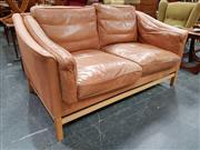 Sale 8741 - Lot 1035 - Danish Stouby Leather Sofa
