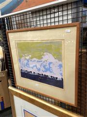 Sale 8891 - Lot 2034 - Edith Cowlishaw - Nebulous Hour, 1971 51.5 x 54.5 cm