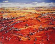 Sale 9047A - Lot 5011 - Louis Dalozzo - Four Horizons 101.5 x 129 cm (frame: 116 x 143 x 4 cm)