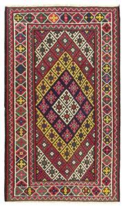 Sale 9061C - Lot 37 - Persian Afshar Kilim Rug, 185x315, Handspun Wool