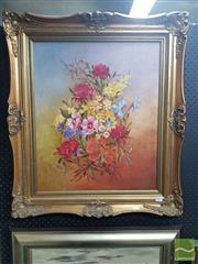 Sale 8544 - Lot 2013 - Daphne Wearne (XX) - Still Life 60 x 50cm