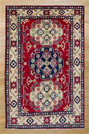 Sale 8566C - Lot 26 - Afghan Kazak 160cm x 105cm