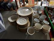 Sale 8582 - Lot 2299 - Noritake Edinburgh Dinner & Tea Wares, 2 Patterns