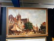 Sale 8695 - Lot 2044 - David Beattie - Yesteryears, acrylic on board, 70 x 100cm (frame size), signed lower right
