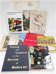 Sale 8822B - Lot 832 - Collection of Books incl. Australian National Gallery An Introduction, ed. J. Mollison & L. Murray, 1982; Painting & Sculpture in...